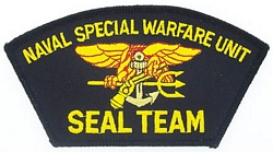 Seal Team Patches